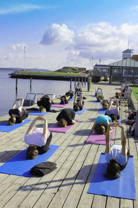 Yoga Meditation Retreat Gullmarsstrand Sweden Yoga Retreat Meditation Retreat Sweden Wisdommats Www Wisdommats Com Yoga Meditation