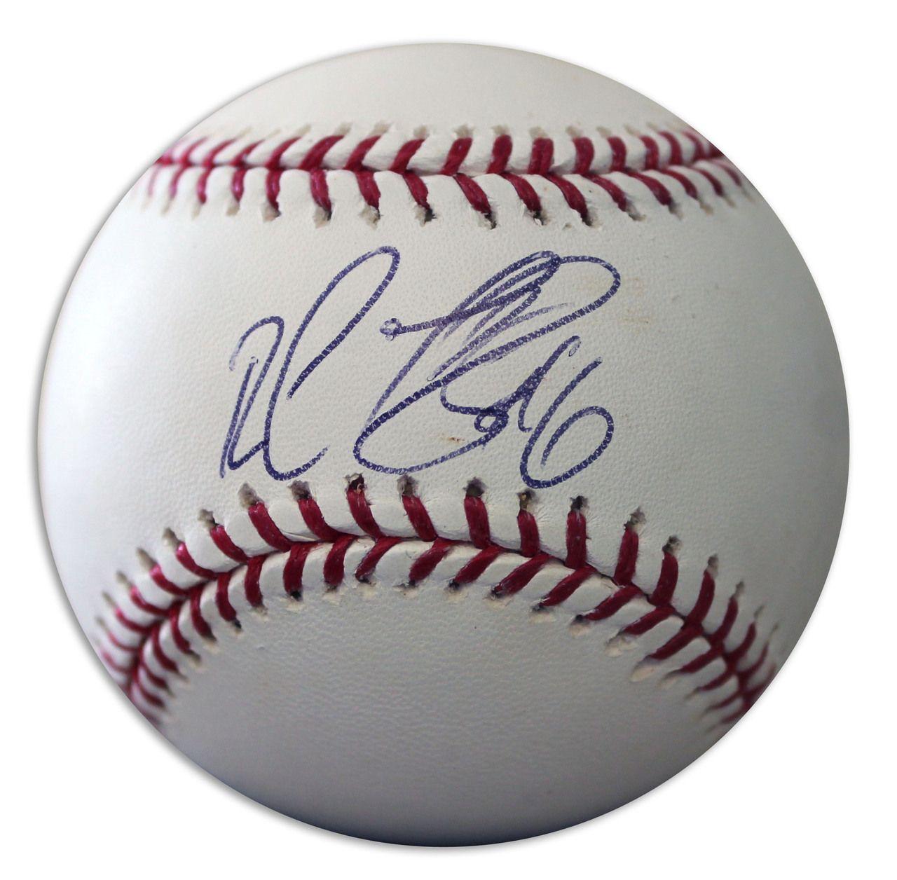 Ruben Gotay Autographed Official Mlb Baseball Mlb Mlb Baseball Autograph