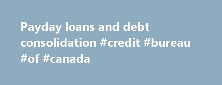 Consolidating credit card debt canada