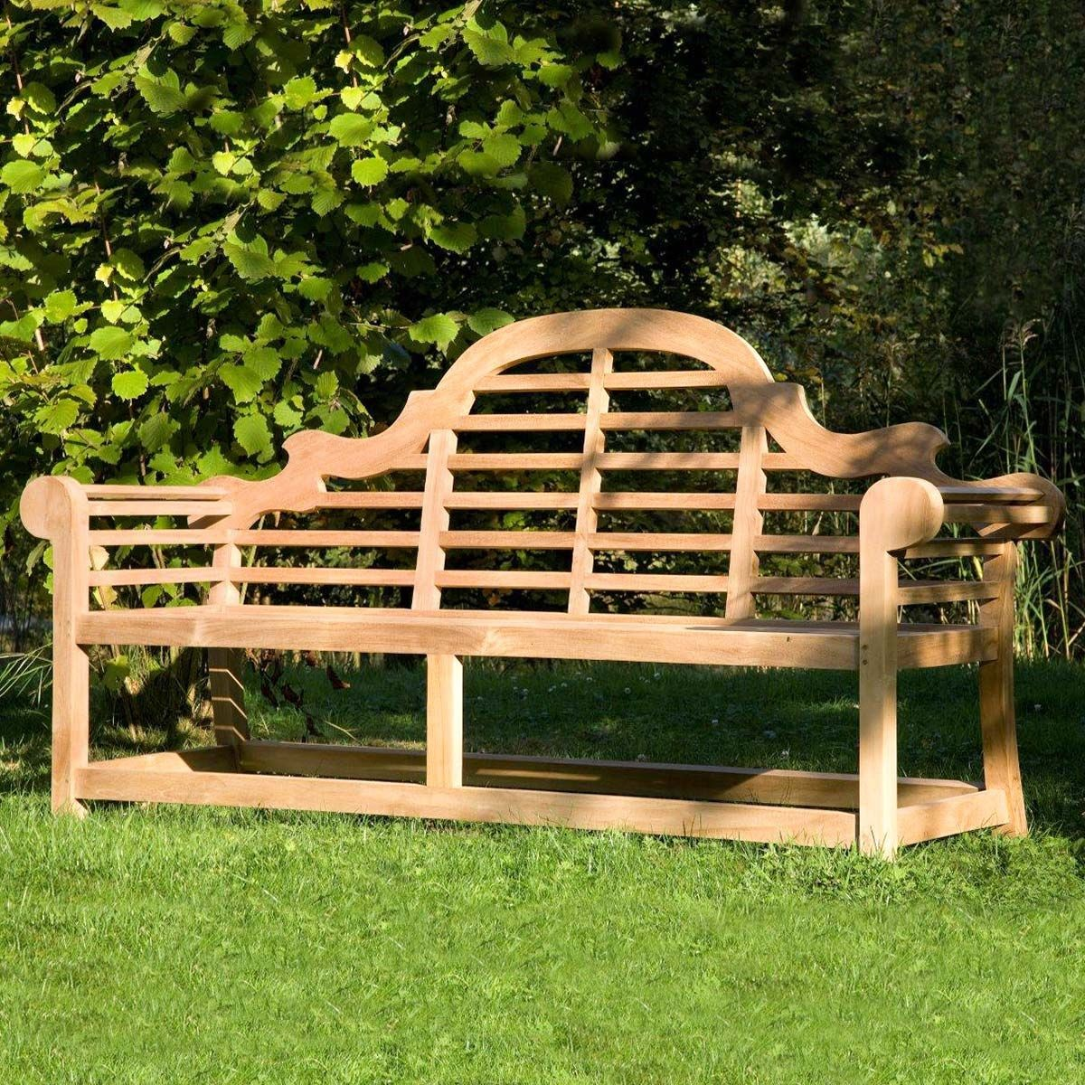 Banc de jardin 3 places en teck grade A, Bilbao | Products ...