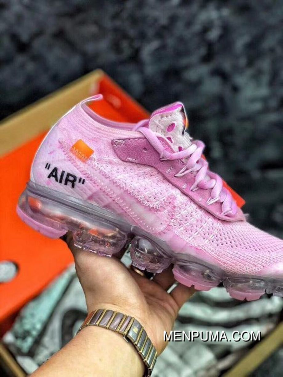 0a0563644f9 Women Off White X Nike Air VaporMax 2018 Flyknit Sneakers SKU 115813-272  New Release