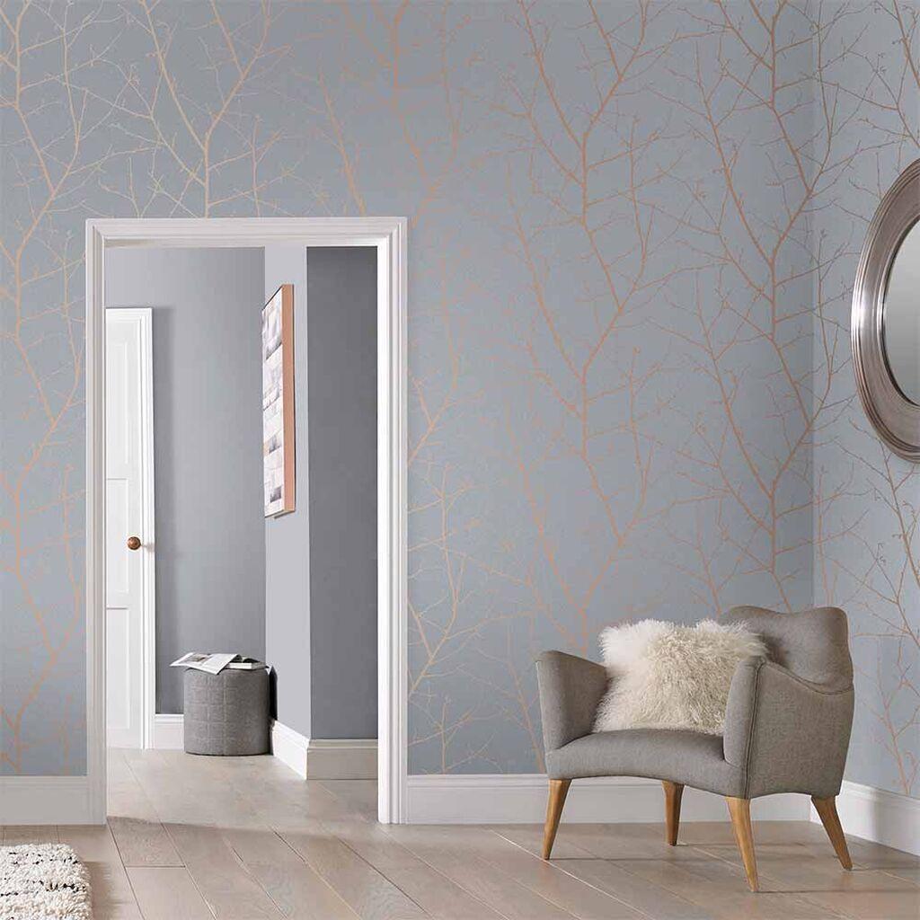 Boreas Soft Grey Wallpaper In 2020 Grey Wallpaper