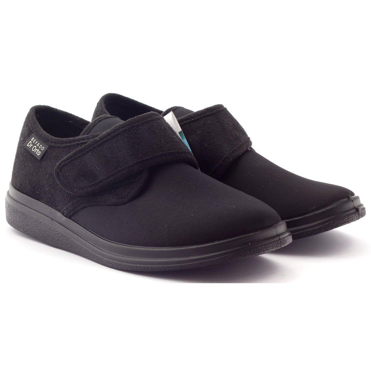 Befado Kapcie Mokasyny Dr Orto Zdrowotne 036d006 Czarne Shoes Slip On Sneaker Sneakers