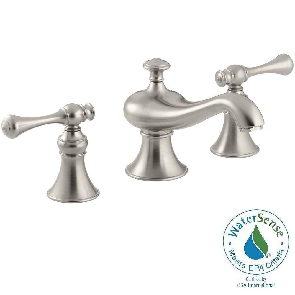 Kohler Revival 8 In Widespread 2 Handle Low Arc Water Saving