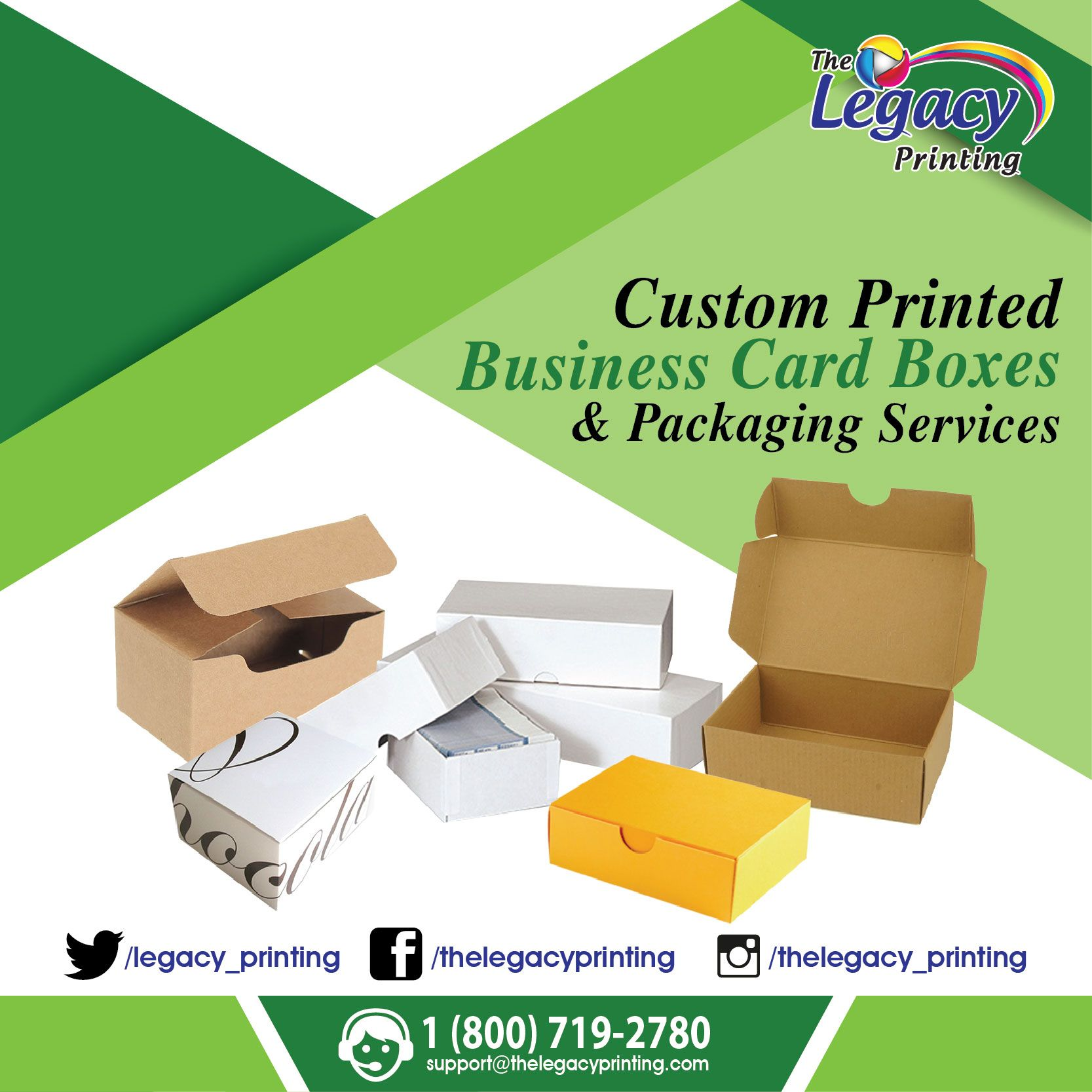 Custom_Printed #Business_Card_Boxes at Wholesale Price. Visit Our ...