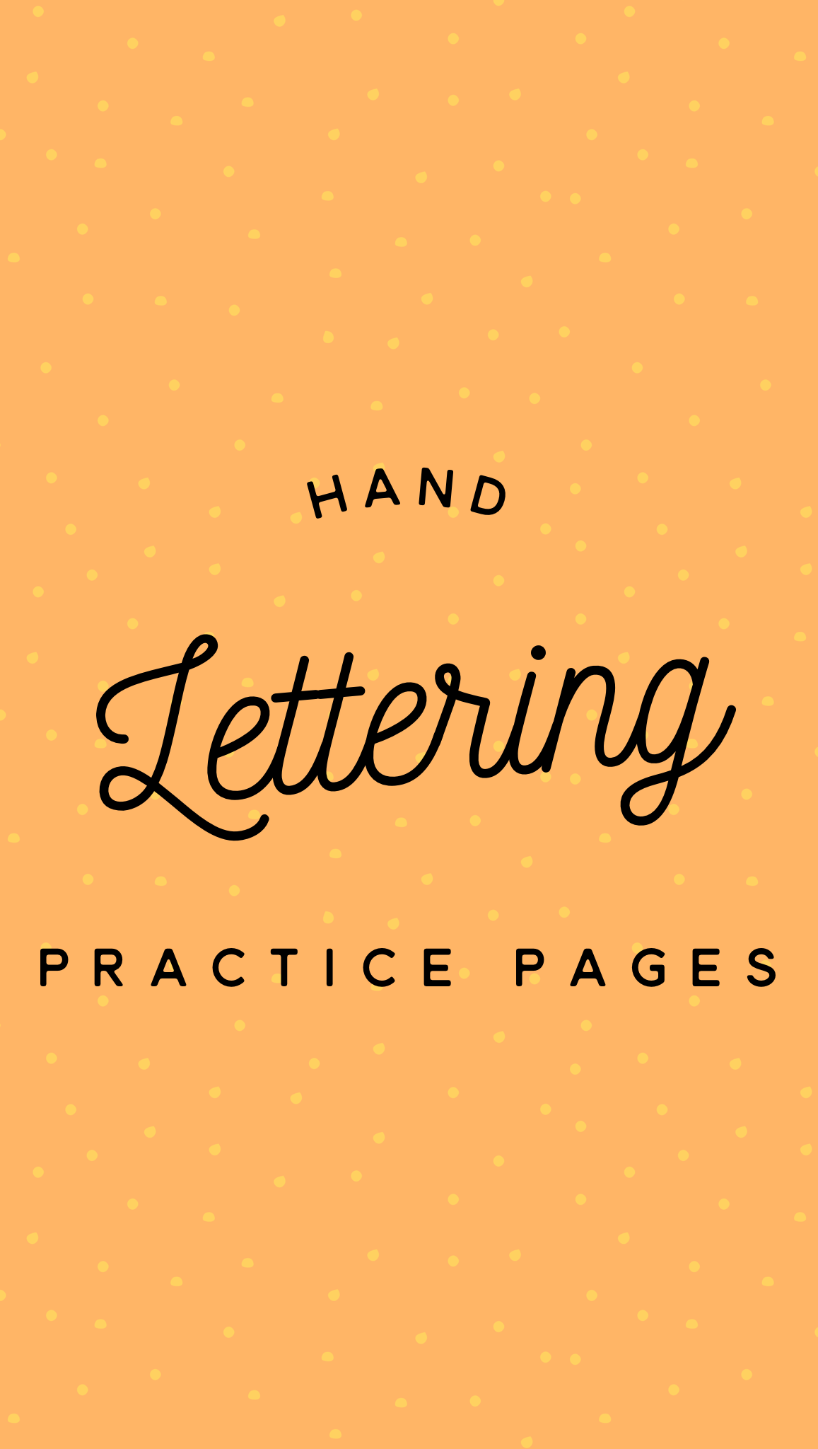 Brush Lettering And Beyond Lettering Worksheets And