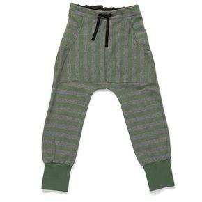 91e9e92248 AlbaBabY Jogginghose Gehen grün-grau gestreift - Kilenda   nähen ...