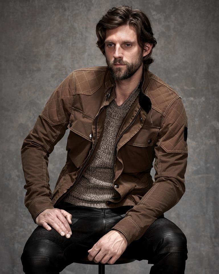 Revolucionario réplica completamente  RJ Rogenski Models Belstaff Leather Fashions | Black leather pants, Leather  fashion, Belstaff