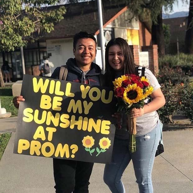 23 Cute Prom Proposals That Will Impress Everyone