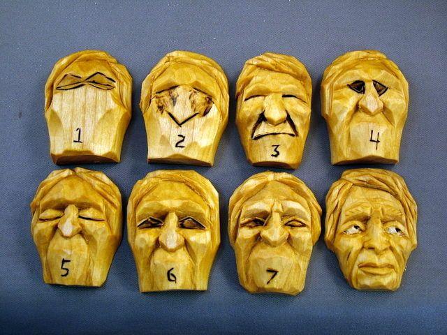 Carving eyes tutorials wood