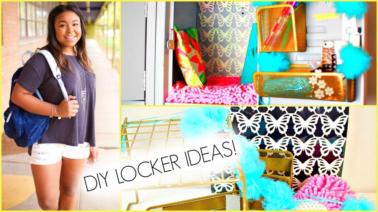 Locker decorations high school - Diy Locker Decorations For Middle School Or High School
