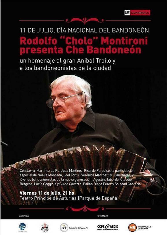 "Rodolfo ""Cholo"" Montironi presenta ""Che Bandoneón"""