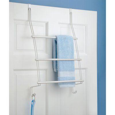 Dotted Line Demi Over The Door Towel Rack Towel Free Standing