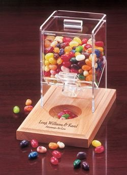 Desktop Candy Dispenser Perfect For Any Filled With Jelly Belly