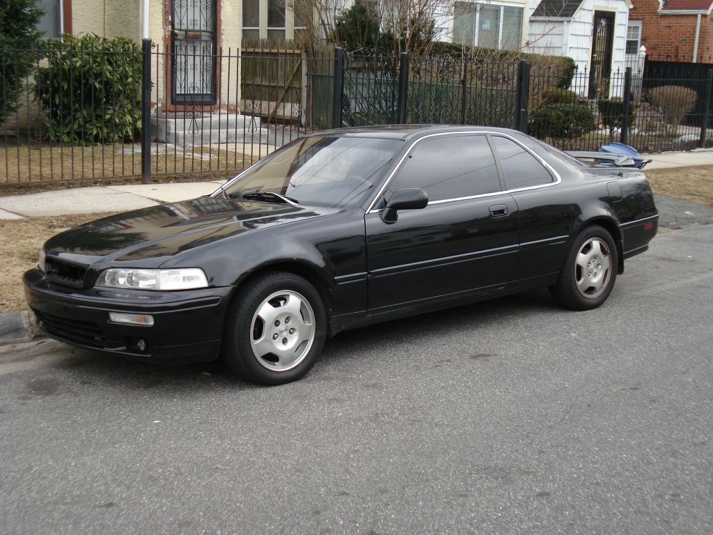Acura legend coupe black color