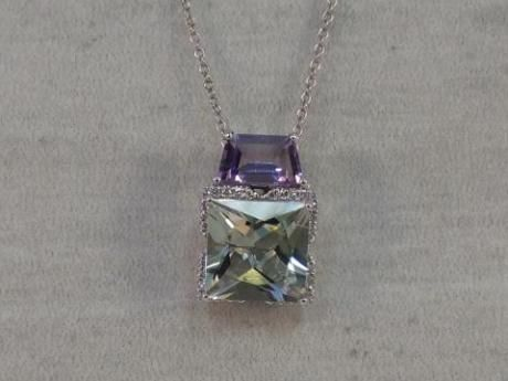 Purple and Green Amethyst Pendant | Popular Items from Your Personal Jeweler of Lake Norman | Cornelius, NC