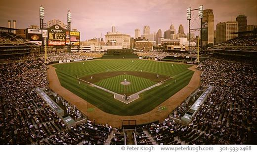 Baseball Stadium Facilities Comerica Detroit Tigers Photograph Photos Pictures Favorite Places Detroit Tigers Baseball Stadium