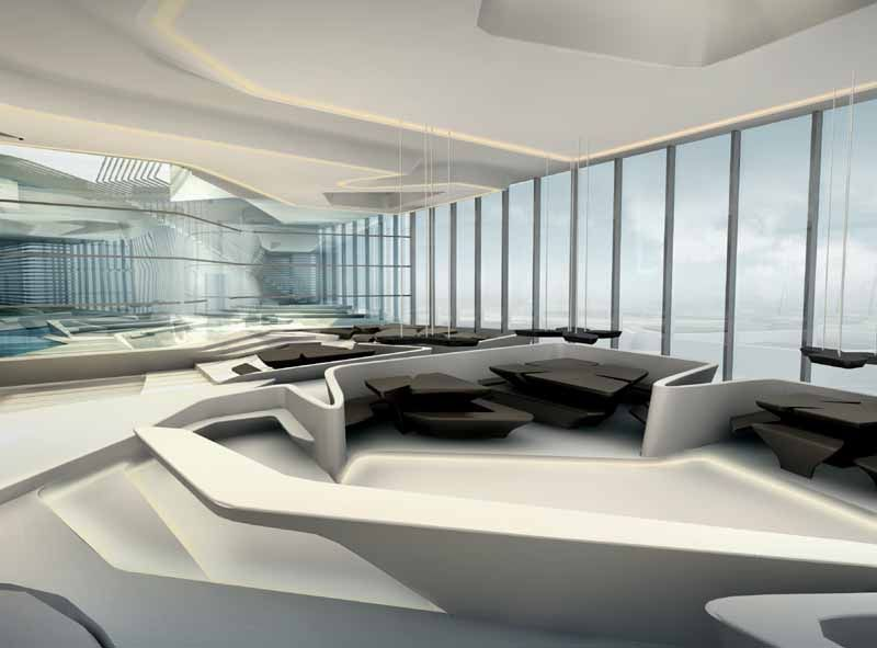 Zaha hadid interior recherche google zaha hadid for Office design zaha hadid
