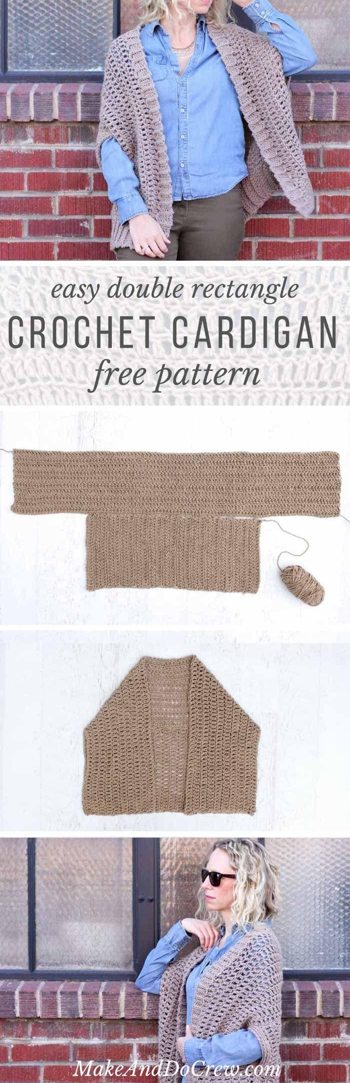 Cocoon Cardigan Free Crochet Pattern   Sacos y Tejido
