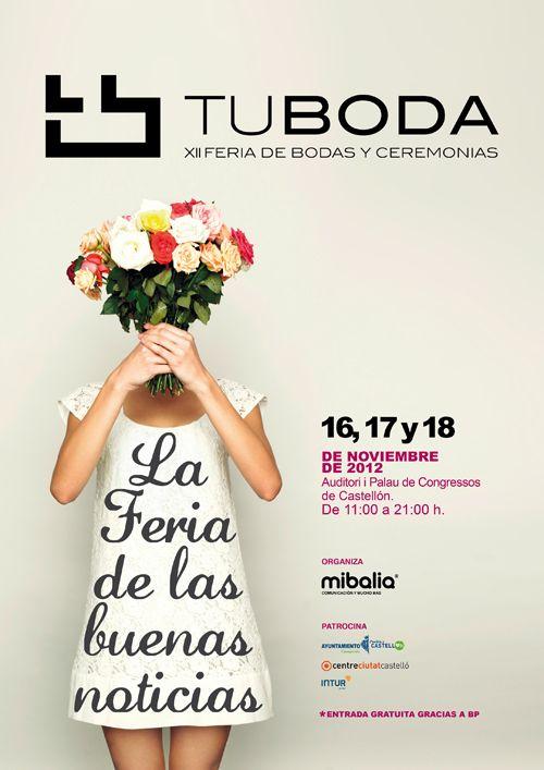 Este fin de semana estaremos en la Feria Tu Boda en Castellón. Desde el backstage de los desfiles y paseando entre stands iremos a la caza de las últimas tendencias en bodas. ¿Os apuntáis? Muy pronto, os mostraremos el reportaje del evento!