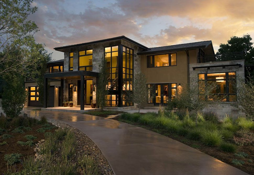 Prjaa01 big 4 contemporary homes mosaic architects for Modern homes colorado