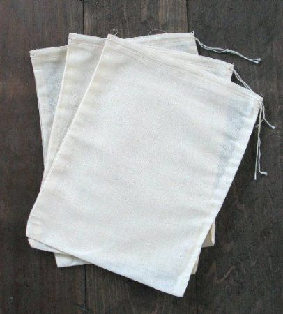 Amazon.com: Cotton Muslin Bags 8x10 inches 10 count pack: Everything Else