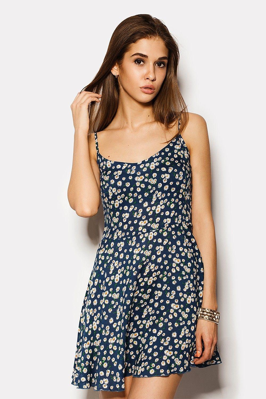 платье из ситца сексуальное - 1