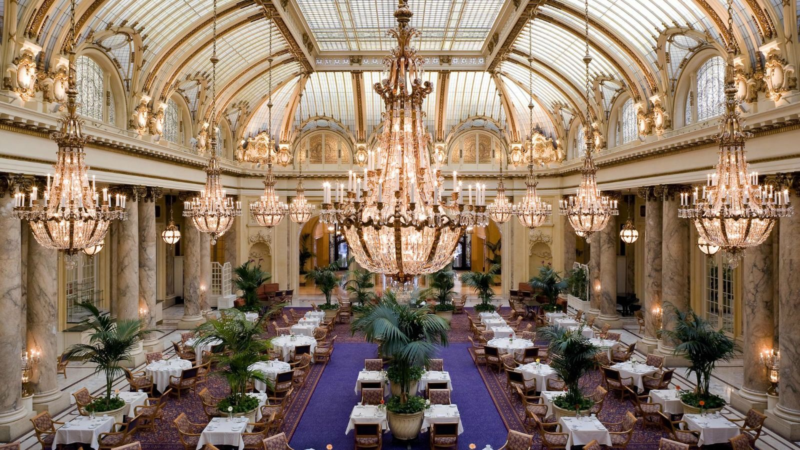 The Palace Hotel's Garden Court The only indoor historic