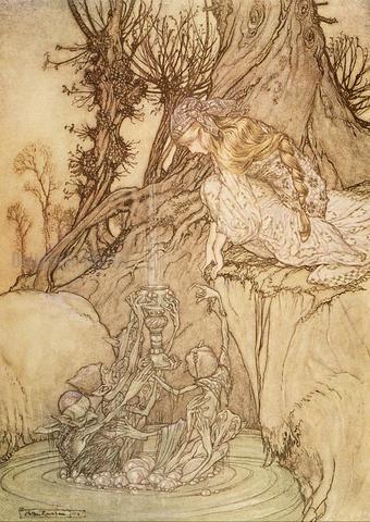 Arthur Rackham Ilustraciones Para Cuentos De Hadas Ilustracion Clasica Arte De Cuento De Hadas