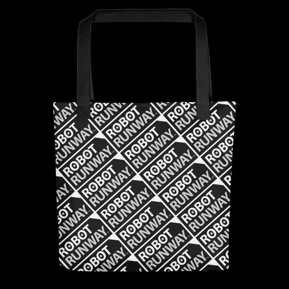 Photo of Robot Runway Black & White Logo Tote bag – Robot Runway®