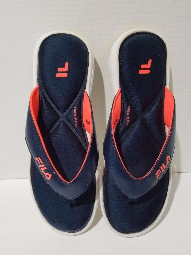 Blue flip flops, Womens sandals