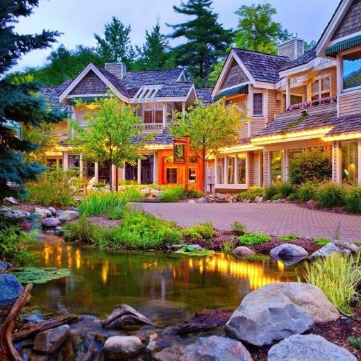 The Homestead Resort Sleeping Bear Dunes Michigan Romantic Cabin