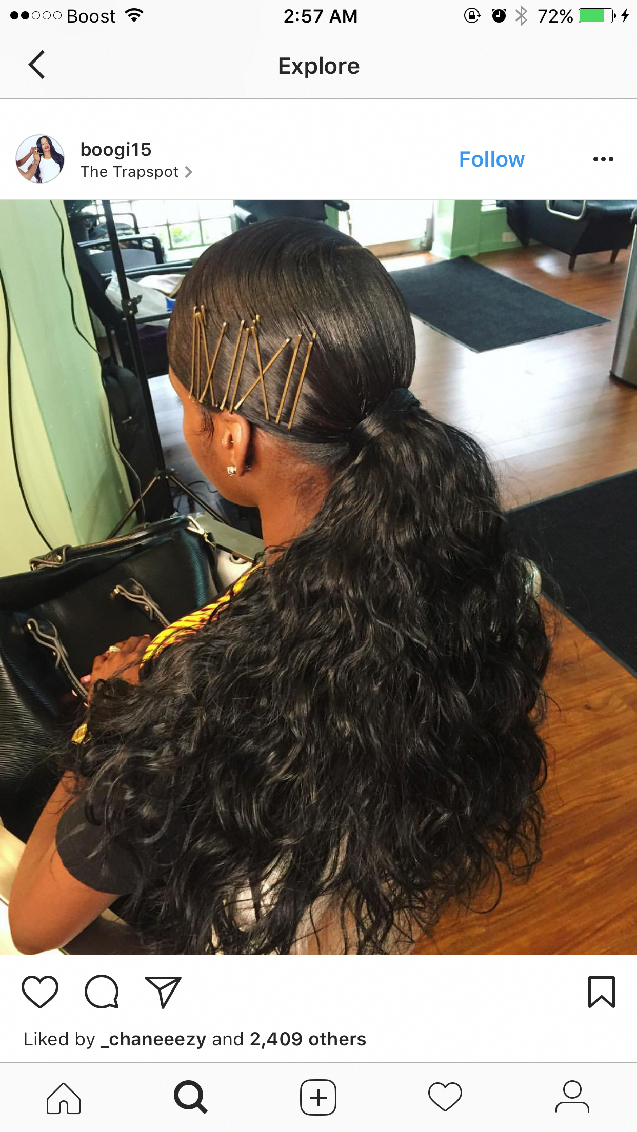 Really Love This Blackhairstylesforlonghair Black Ponytail Hairstyles Birthday Hairstyles Hair Styles