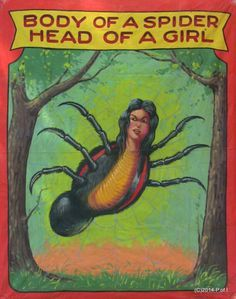 Body of a Spider Head of a Girl