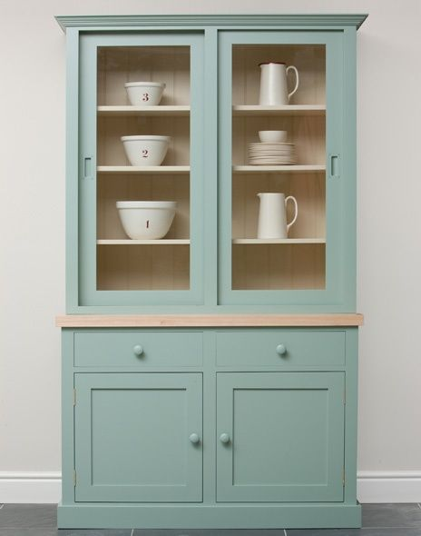 This hand painted kitchen dresser features sliding doors making it this hand painted kitchen dresser features sliding doors making it useful in areas where space is planetlyrics Gallery