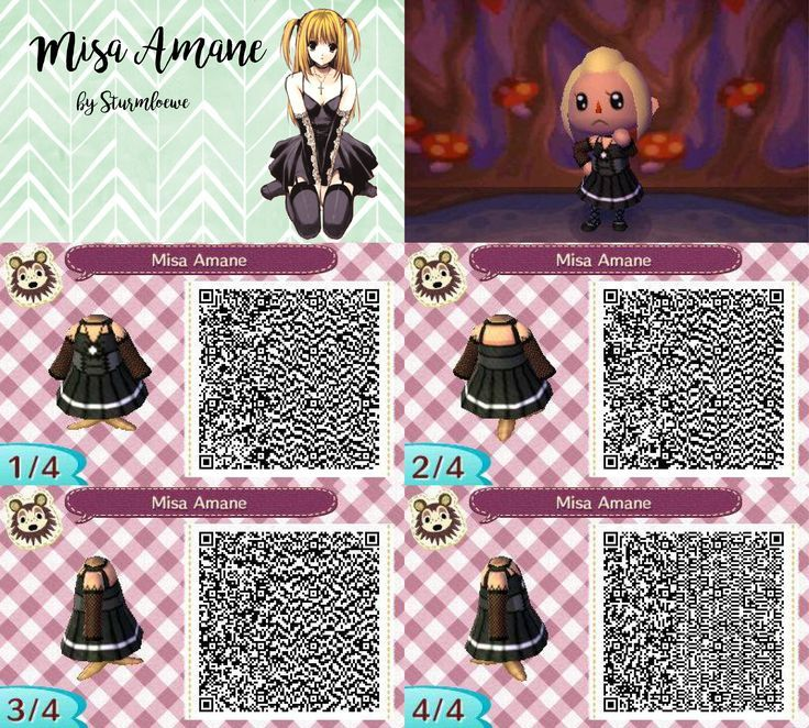 Image Result For Animal Crossing New Leaf Qr Codes Seraph Of The End