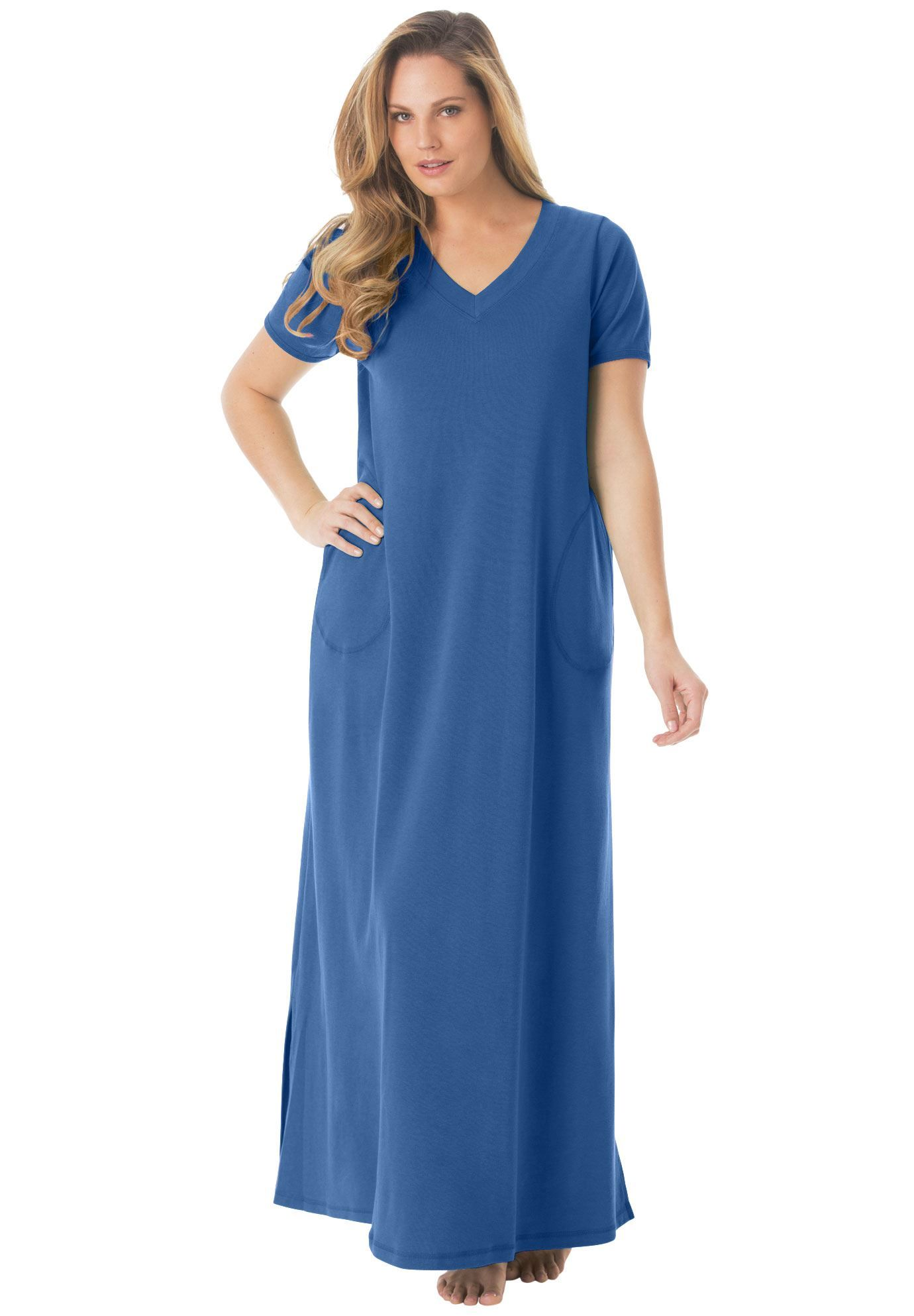 Maxi Lounger by Dreams & Co. - Women\'s Plus Size Clothing ...
