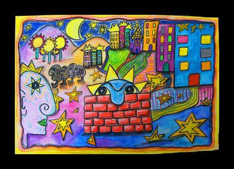 'Gefallene Sterne - Fallen Stars' von mimulux bei artflakes.com als Poster oder Kunstdruck $16.63