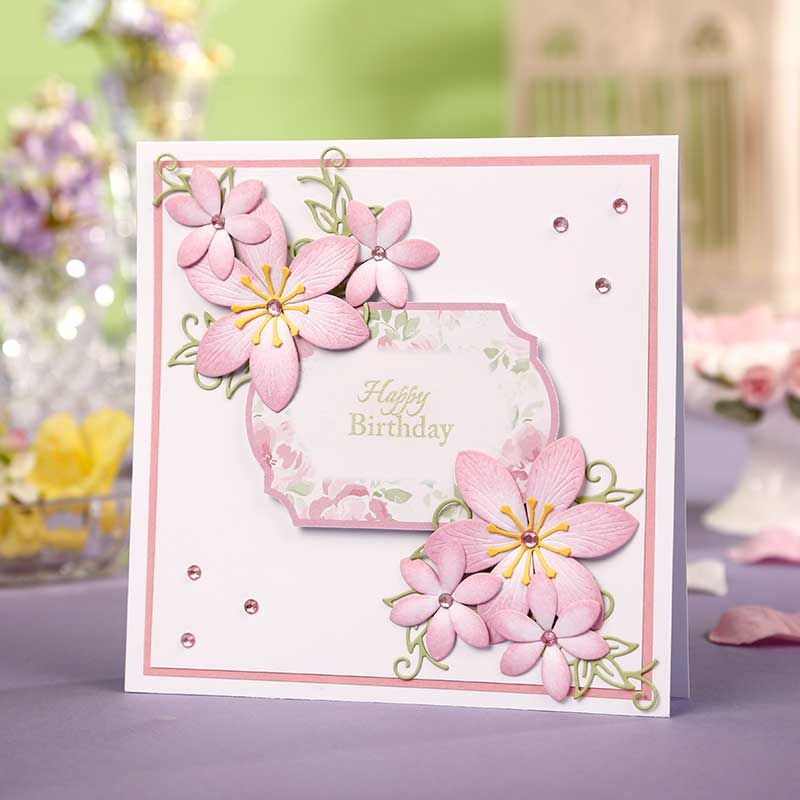 pingrazyna lilley on cards tattered lace  birthday