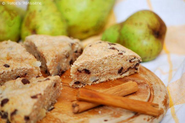 Patce's Patisserie: Birnen-Schokoladen-Scones mit Zimt [Und den…