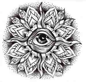 Adult Coloring Pages Eyes 2