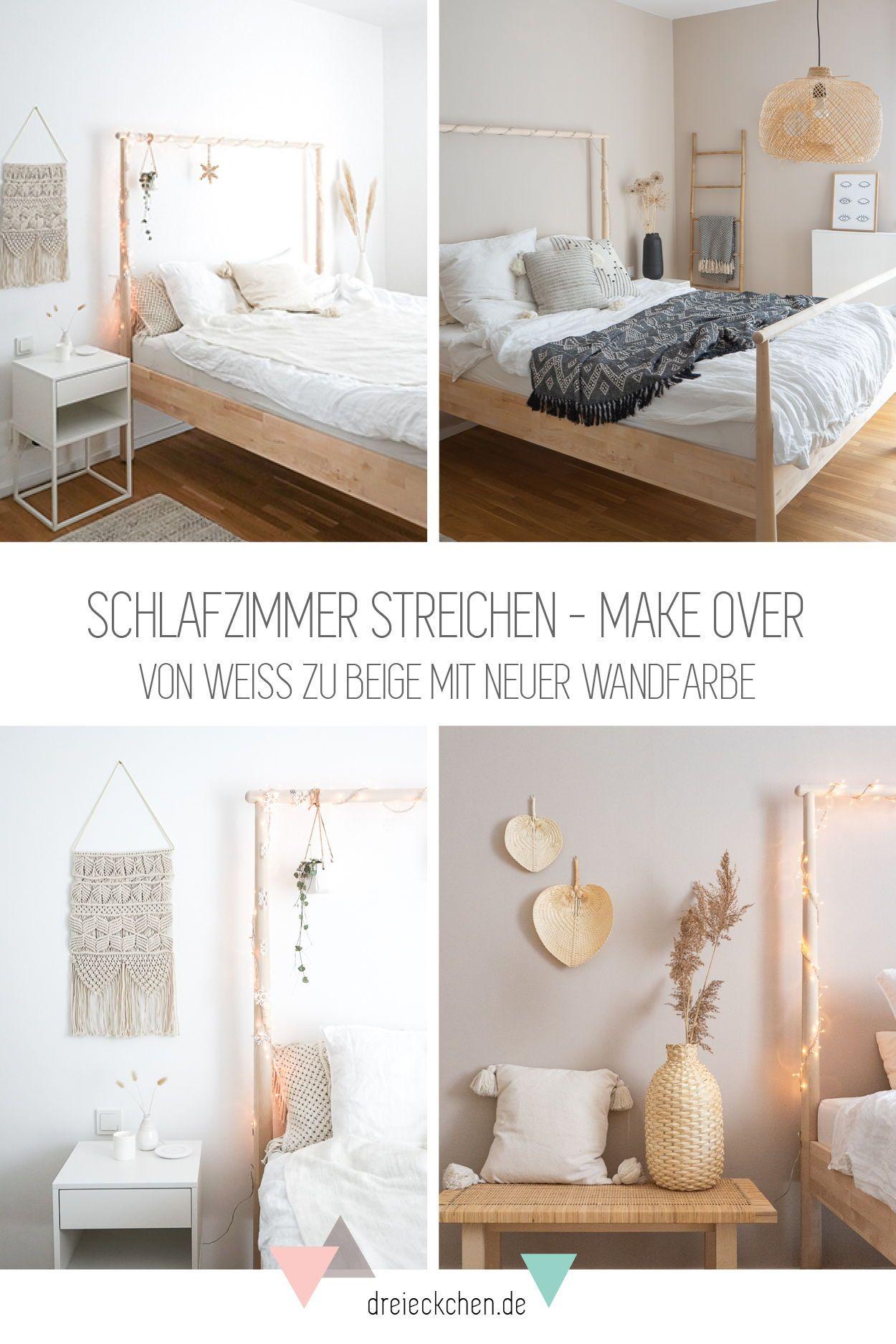 Photo of Neue Wandfarbe fürs Schlafzimmer
