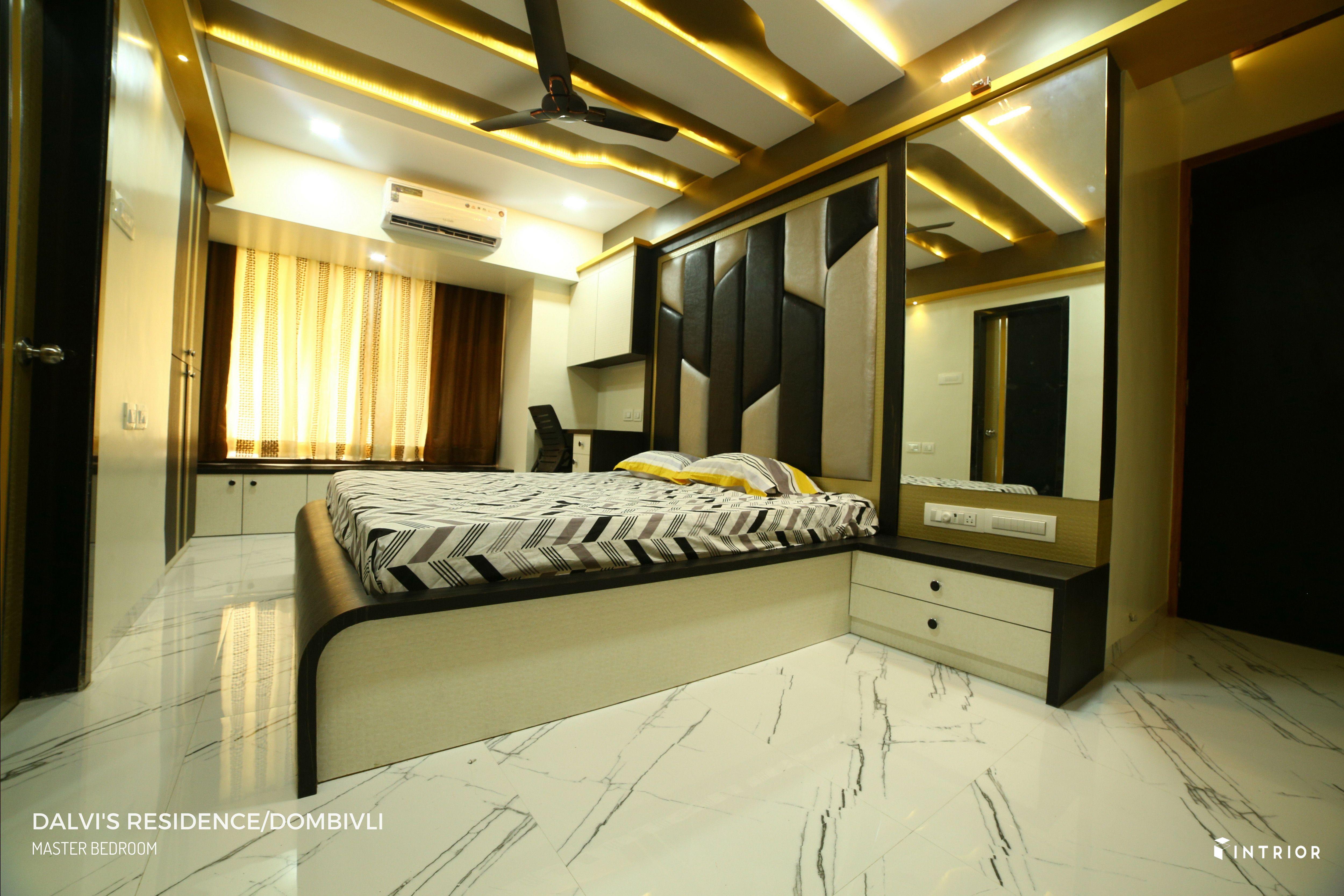 Master Bedroom Design At Dombivli Thane Master Bedroom Design