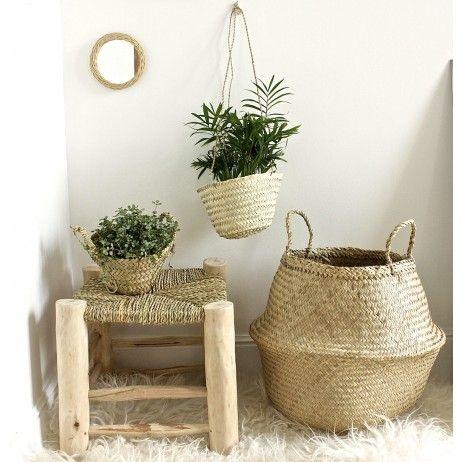 paniers et tabouret en bois artisanat berb re paniers. Black Bedroom Furniture Sets. Home Design Ideas