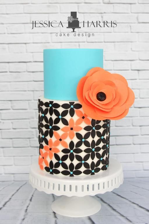 Petal Flower Cake Design - 3 Designs | Bluprint