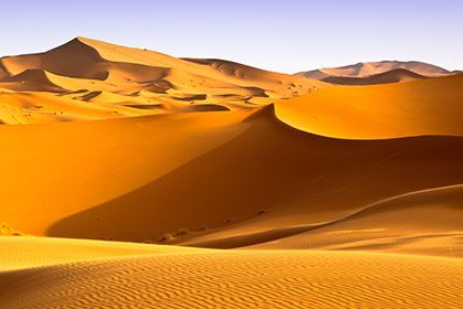 Sand Dunes Wallpaper Wall Decor Pemandangan Padang Gurun Pasir