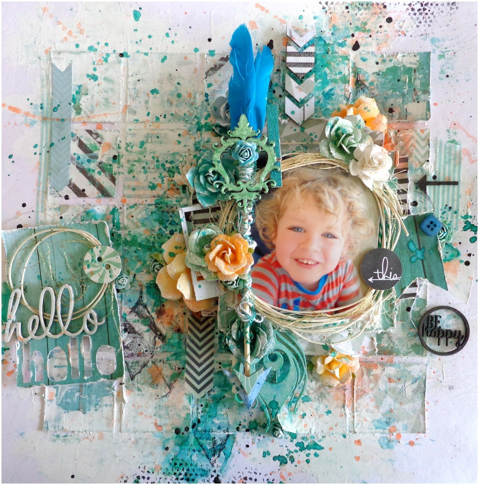My Son and my Colourful World: JULY MOODBOARD AT DUSTY ATTIC