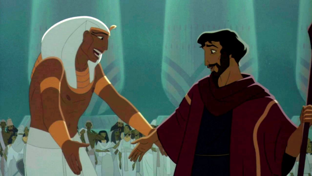Moses and Ramses | The Prince of Egypt | Prince of egypt, Disney and  dreamworks, Disney animated films
