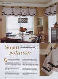 Southern Living Curtain Patterns, Drapery Patterns And Valance Patterns  Used In Southern Living Idea Houses