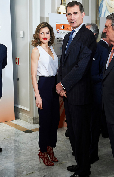 King Felipe and Queen Letizia of Spain attended luncheon held on the occasion of…